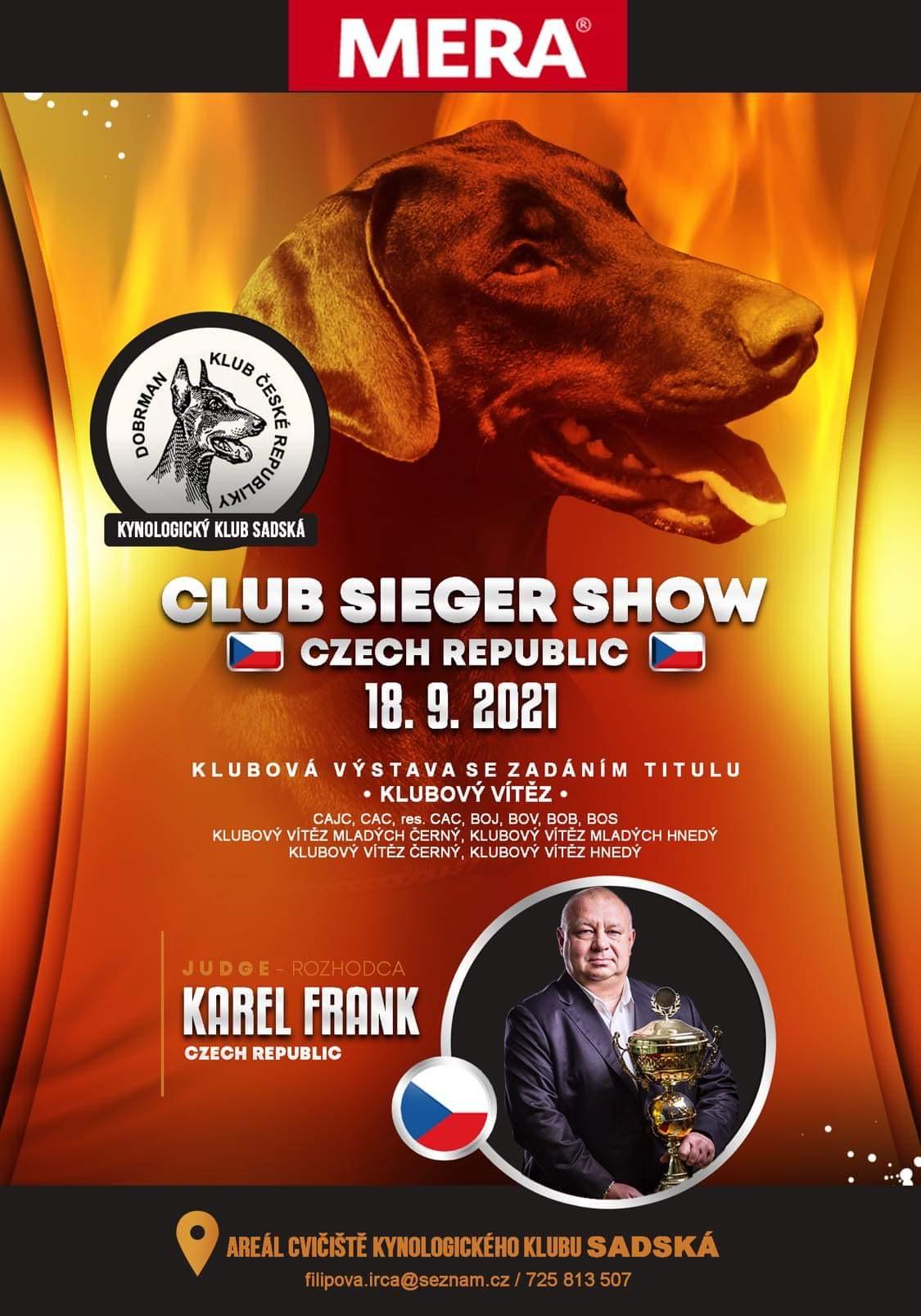 Read more about the article Klubová výstava se zadáním titulu KV Sadská 18.9.2021